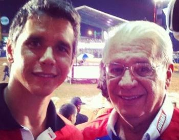Ator Márcio Garcia comunicou a morte do pai nesta sexta-feira (18). Carlos Alberto Machado Tavares esta internado após contrair o novo coronavírus