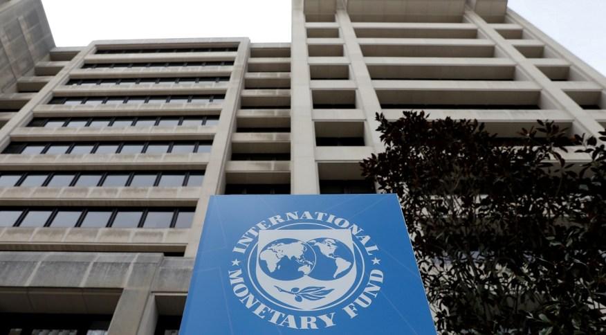 Sede do FMI, em Washington, EUA (08/04/2019)