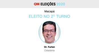 Prefeito eleito, candidato pelo Cidadania, era o nome da oposição na capital do Amapá
