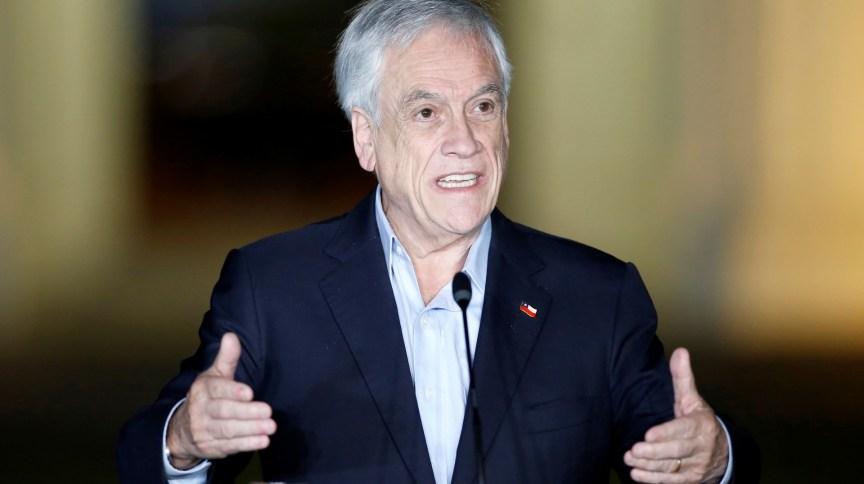 Presidente do Chile, Sebastián Piñera, confirmou recebimento de doses da vacina da Pfizer nesta semana
