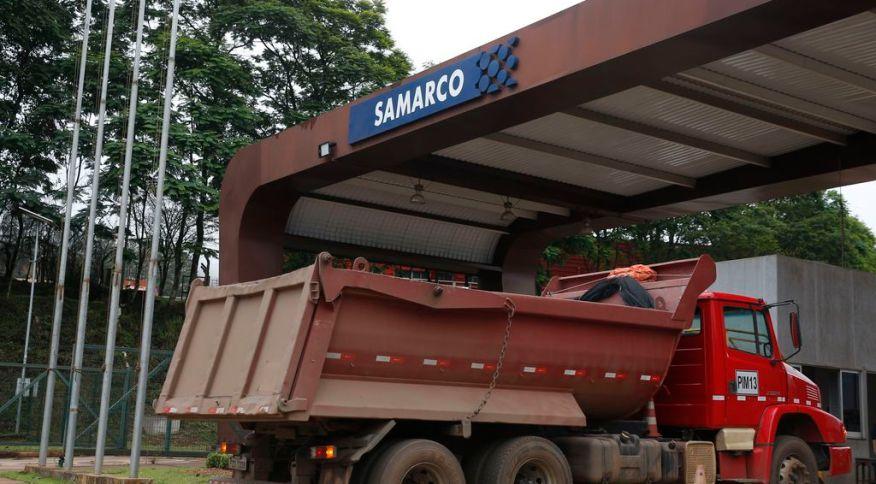 Entrada da Samarco: mineradora começou a retomar suas operações