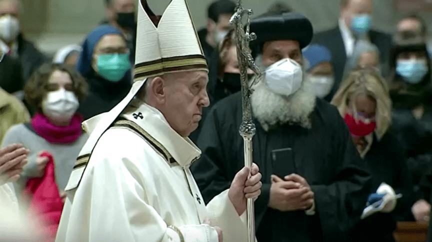 Papa Francisco na Missa do Galo (24.dez.2020)