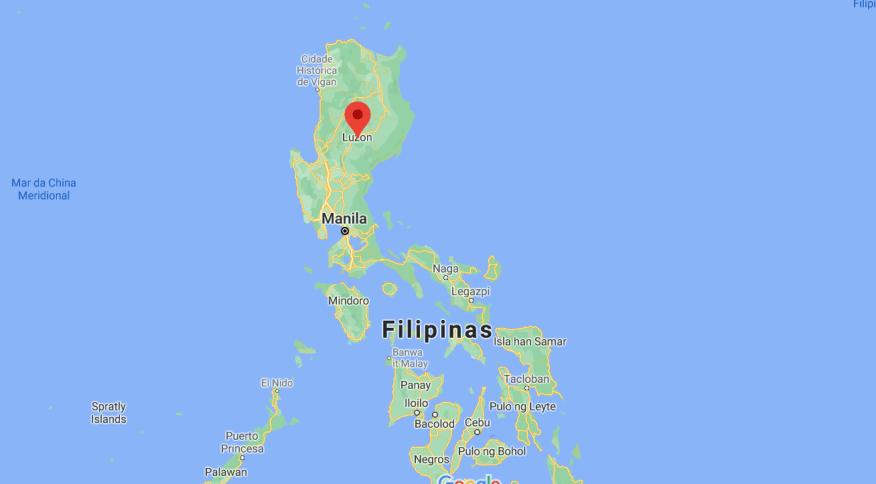 Terremoto de magnitude 5,7 nas Filipinas