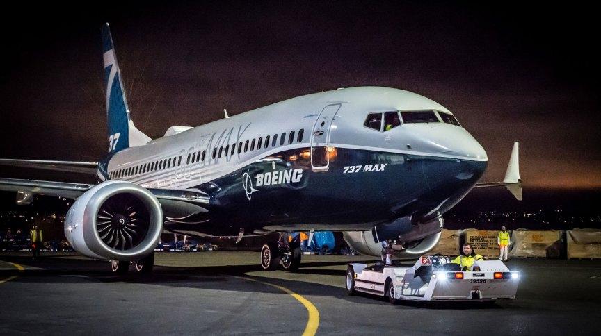 O Boeing 737 Max, que não voa desde 2019