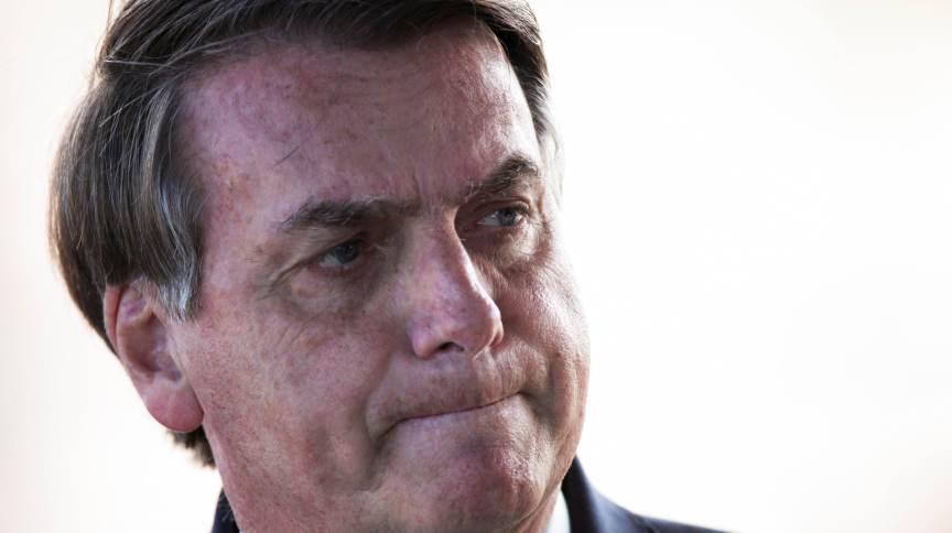 O presidente da República, Jair Bolsonaro: alvo de ação no Tribunal Penal Internacional