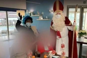 Homem vestido de Sinterklaas (versão local do Papai Noel) visitou casa de idosos em Mol, na Bélgica, e dias depois descobriu estar infectado com o coronavírus