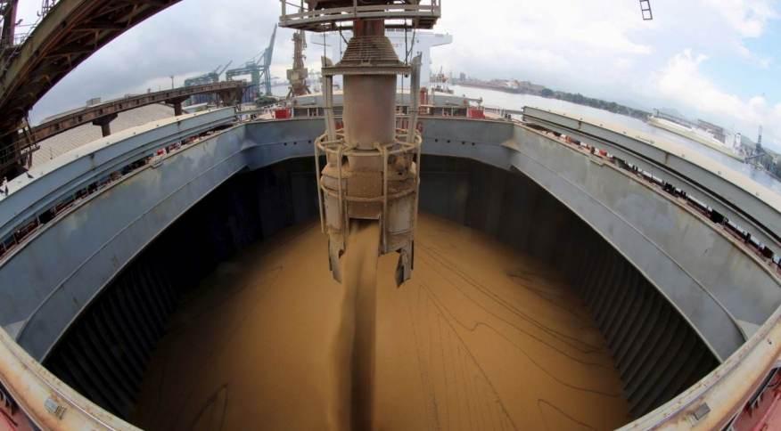 Recorde mensal de exportação da commodity é 12,3 milhões de toneladas, de maio de 2018 (19.mai.2015)