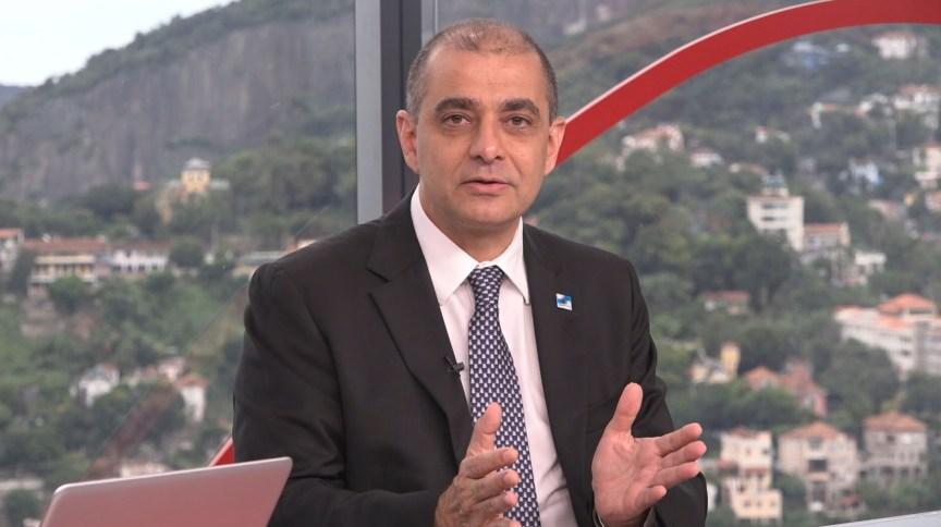 Edmar Santos, ex-secretário estadual de Saúde do Rio de Janeiro