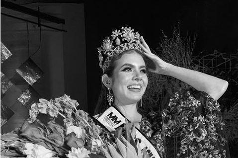 A modelo Ximena Hita, que concorria a Miss México 2021
