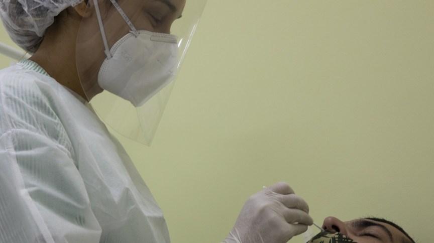Exame confirmou a presença da nova variante do coronavírus