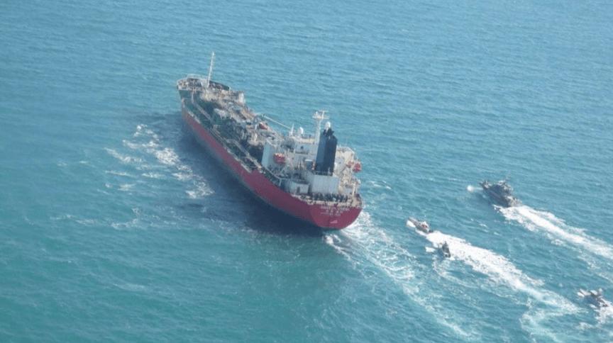 Navio-tanque sul-coreano foi interceptado pela Marinha da Guarda Revolucionária do Irã