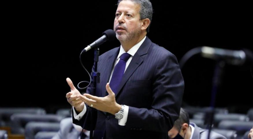 Deputado Arthur Lira, do PP, em discurso na Câmara