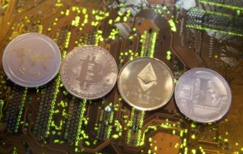 """A máquina, batizada de """"la bitcoinera"""", permite que usuários comprem bitcoin e ethereum usando a moeda local"""