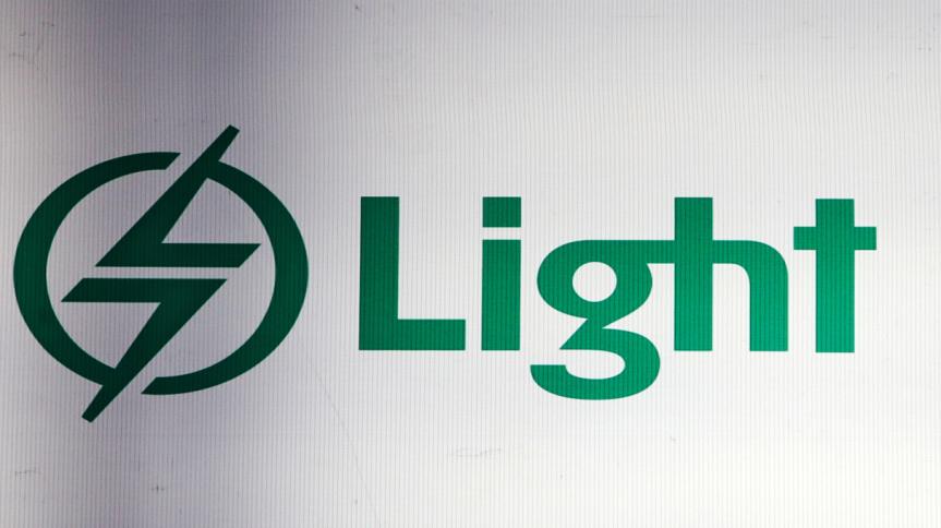 Logo da elétrica Light