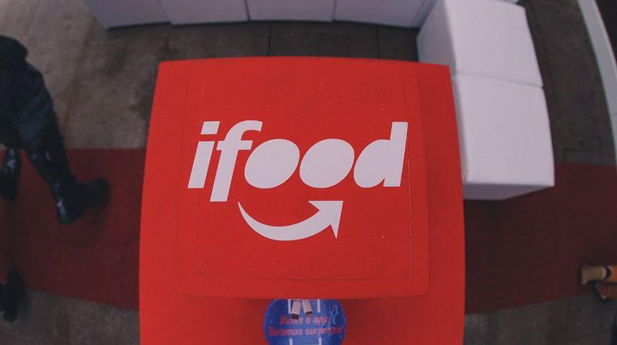 Logotipo do aplicativo iFood