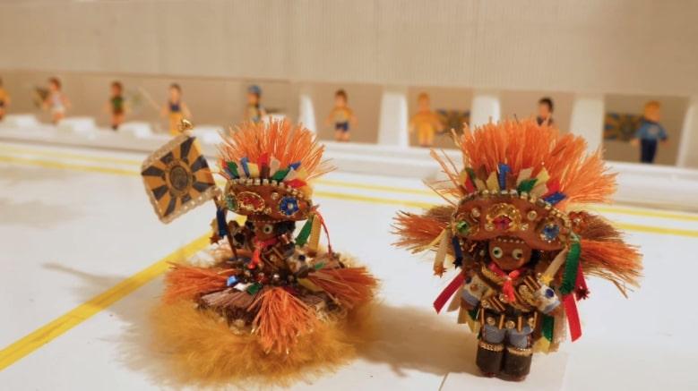 Desfile de maquetes da Unidos do Tijucano