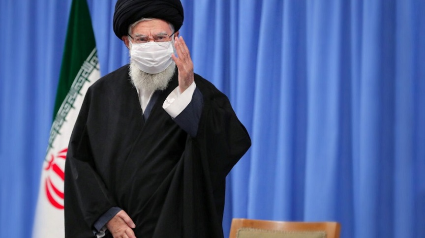 Líder supremo do Irã, aiatolá Ali Khamenei, durante reunião em Teerã