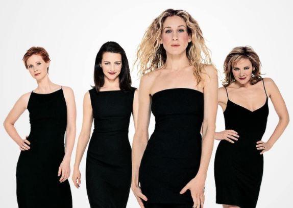 As protagonistas da série 'Sex and the City' (1998-2004)