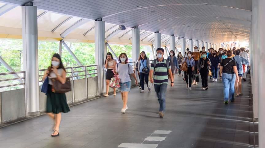 Uso de máscara é obrigatório em universidades de Singapura