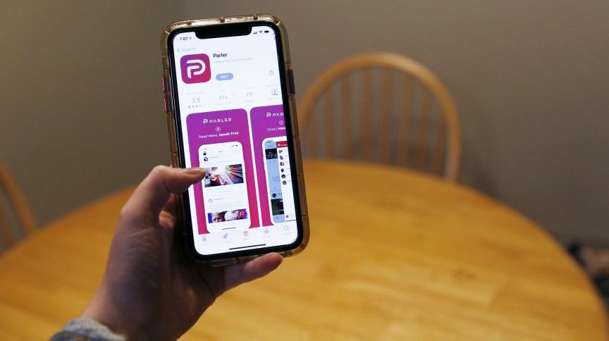 O aplicativo Parler
