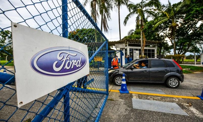 Fábricas da Ford serão fechadas no Brasil