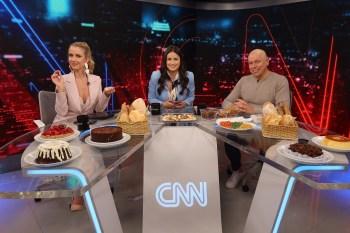 CNN Tonight, talk show apresentado por Mari Palma, Gabriela Prioli e Leandro Karnal, discute gula. O papo é com o humorista Victor Camejo