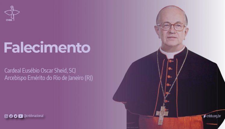 O cardeal Eusébio Scheid, que morreu nesta quarta-feira, 13 de janeiro, aos 89 anos, vítima da Covid-19