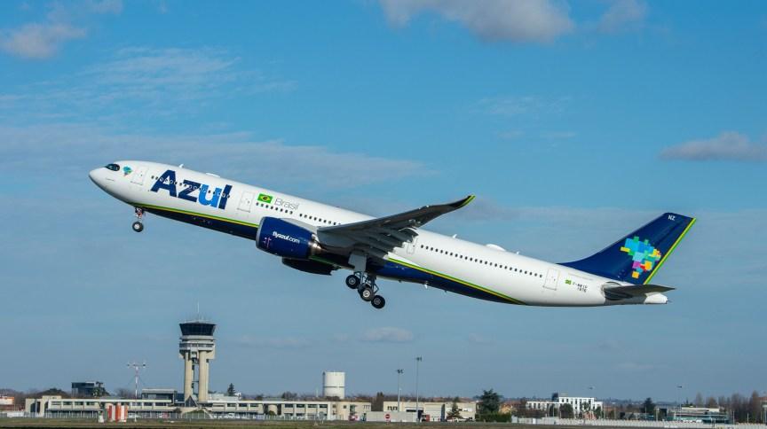 O Airbus A330neo da Azul