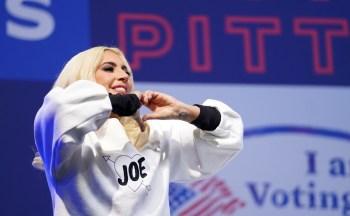 Gaga, que tem um histórico de ativismo ao lado de Biden e ajudou na campanha do democrata durante as eleições presidenciais, vai cantar o hino nacional