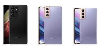Galaxy S21 (US$ 799) e o S21+ (US$ 999) são US$ 200 mais baratos que os modelos que estão substituindo, e o S21 Ultra (US$ 1199) é US$ 300 mais em conta