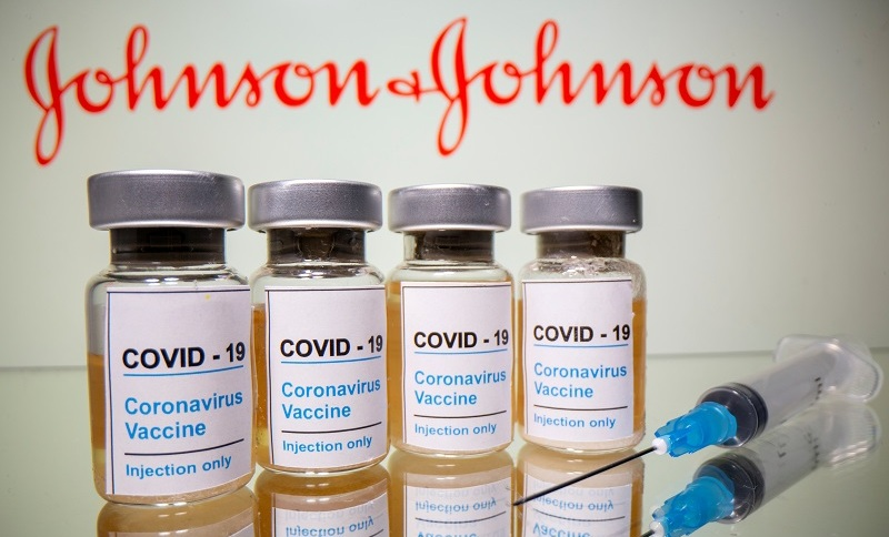 Vacina da farmacêutica Janssen, do grupo Johnson & Johnson, contra o novo coronavírus