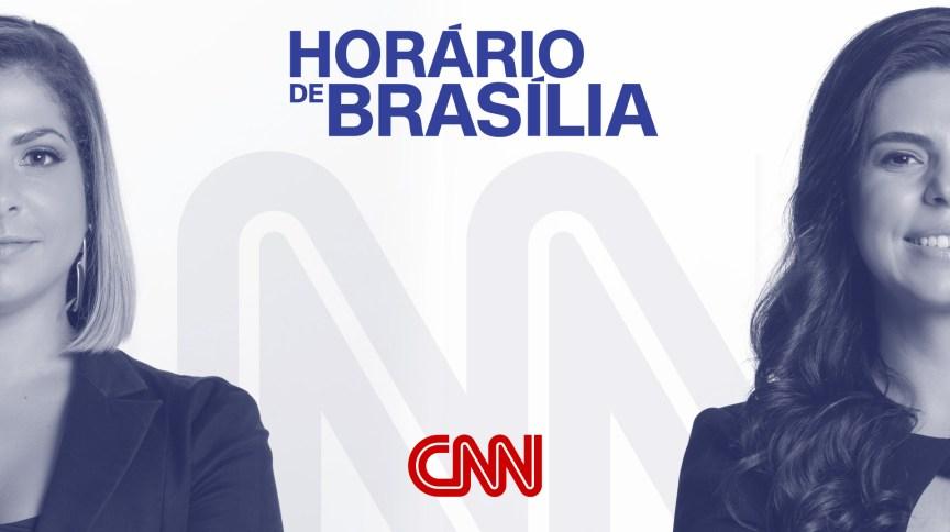 Daniela Lima e Renata Agostini apresentam o podcast Horário de Brasília