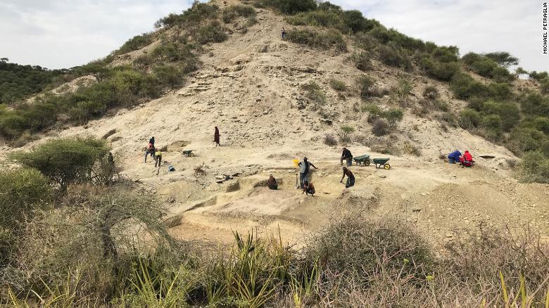 Sítio arqueológico Ewass Oldulpa, na Tanzânia