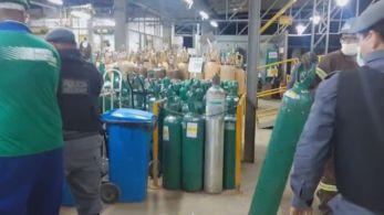 Ofício informa que 33 municípios do interior do estado teriam estoque garantido de oxigênio apenas até a próxima quarta-feira, 24 de março