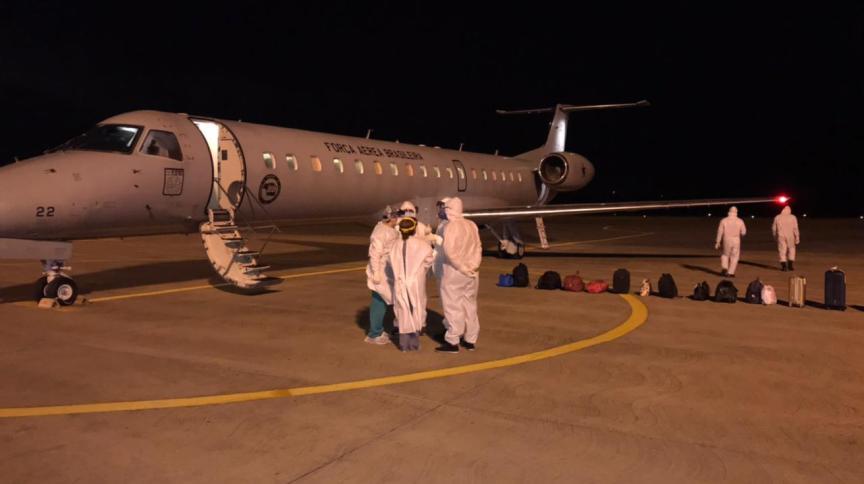 Transporte de pacientes de Manaus para São Luís feitos durante a noite de sexta (15) para sábado (16)