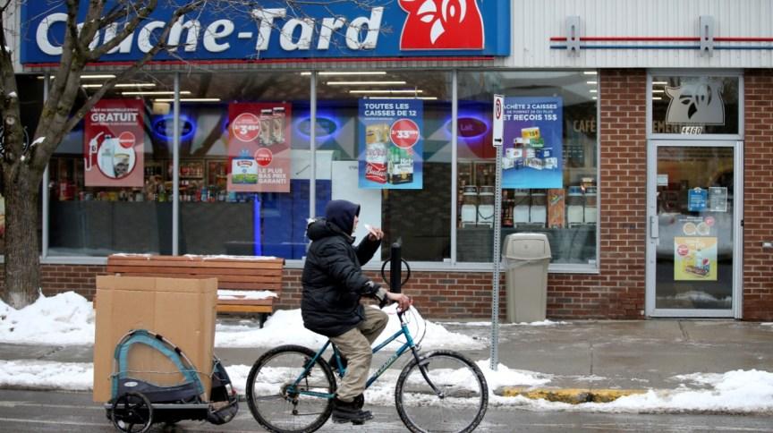 Loja de conveniência da rede de supermercados Couche-Tard, no Canadá