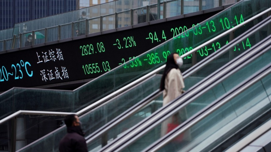 Bolsas asiáticas já começam a se recuperar (13.mar.2020)