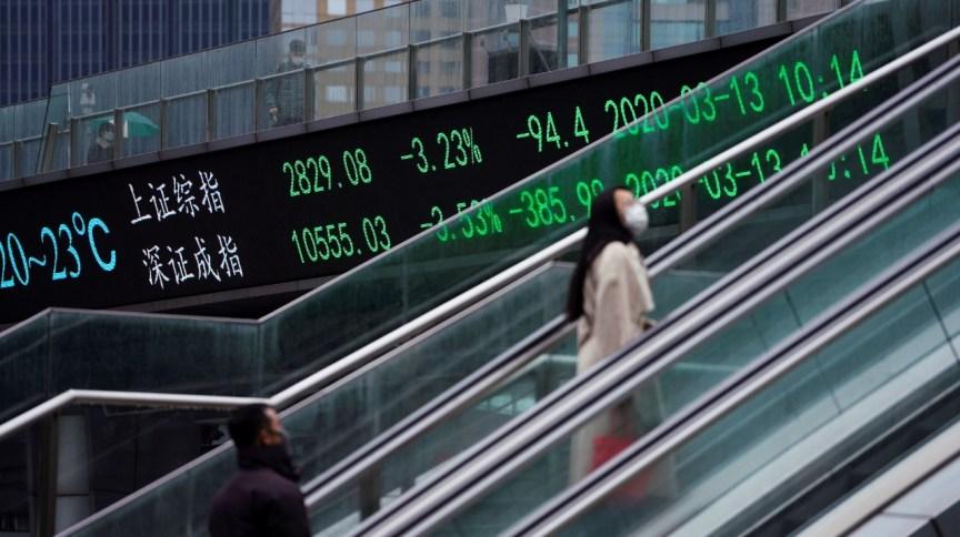 Bolsa de valores na China: Alta do mercado internacional e liquidez dada pelos BCs globais ajudam no otimismo, mas o Brasil precisa se ajudar