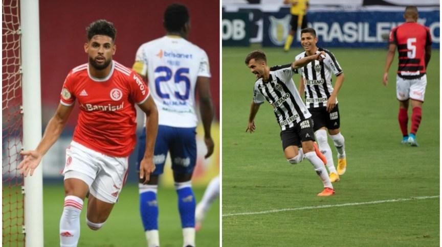 Inter e Galo aproveitaram o tropeço do líder São Paulo e encostaram na liderança
