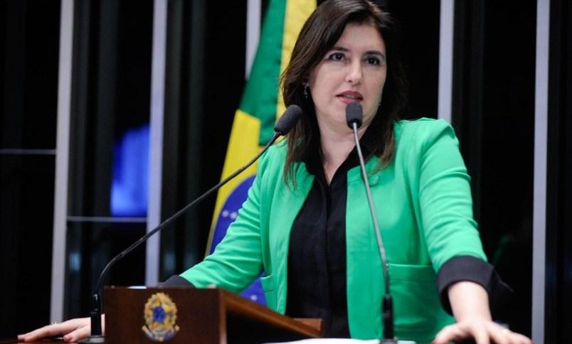 Simone Tebet (MDB-MS) será a primeira a ocupar o cargo