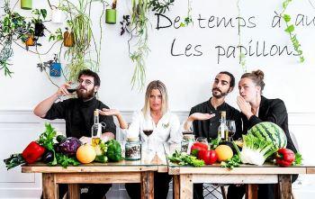"""""""A gastronomia francesa está se tornando mais inclusiva"""", diz a chef Claire Vallee, que pediu empréstimos para abrir o restaurante ONA - Origine Non Animale"""
