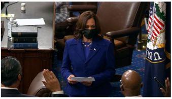 Os três novos integrantes do senado são do mesmo partido da vice-presidente