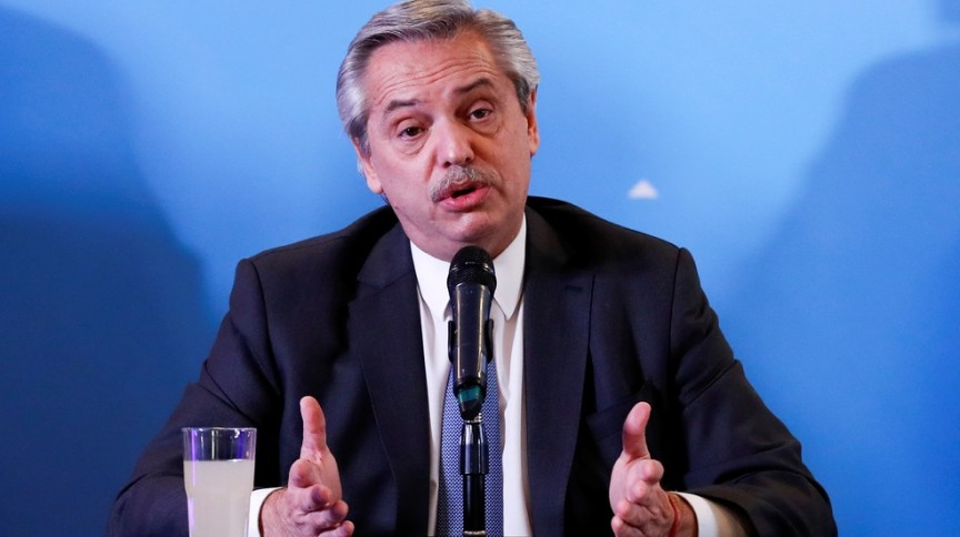 Alberto Fernandez, presidente da Argentina
