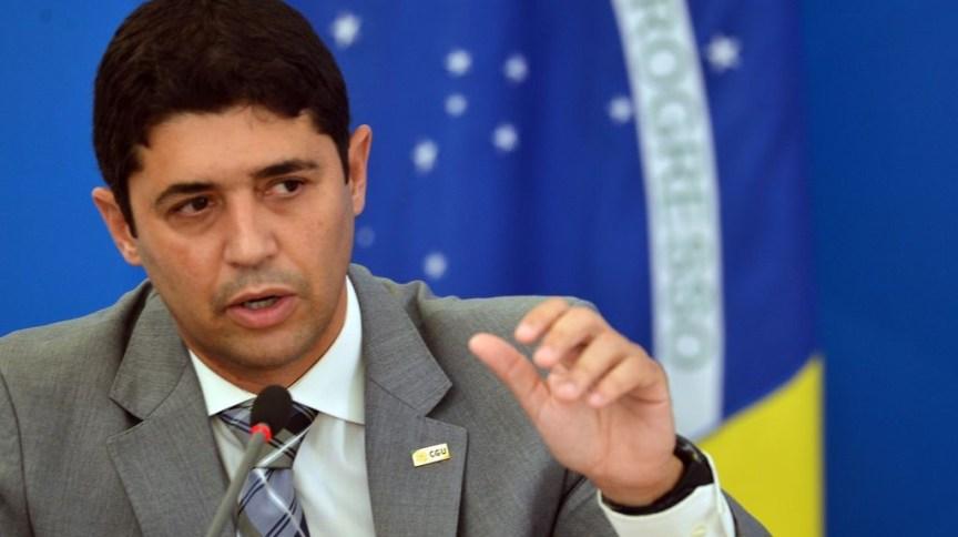 O ministro-chefe da Controladoria-Geral da União (CGU), Wagner Rosário