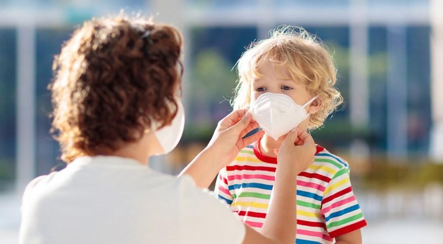Uso de máscaras por crianças é tão importante quanto em adultos
