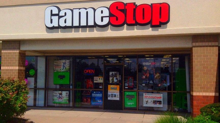 Loja da varejista de jogos GameStop