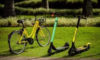 É possível encontrar a famosa bicicleta amarela em sites de leilão pela internet; Grin, dona da Yellow, deve voltar às operações somente com patinetes