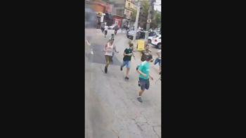 Grupos de apoiadores dos rivais se encontraram em rua na região do Sacomã, na Zona Sul da cidade de São Paulo; dois foram baleados e ninguém foi preso