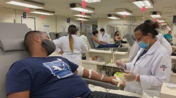 O governo de São Paulo fez um pedido aos doadores de sangue para realizar o ato antes de se vacinarem contra a Covid-19