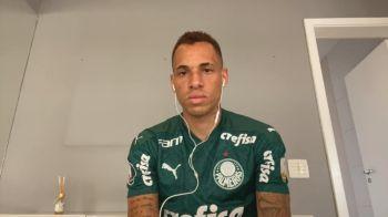 O atacante do Palmeiras Breno Lopes destacou a importância do técnico Abel Ferreira na conquista da Libertadores da América